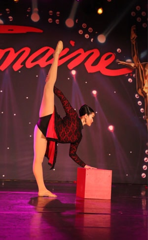 Company soloist at DanceWorks Performing Arts at Tremaine Convention