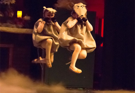 Mice in The Nutcracker presented by Friends of DanceWorks, Vancouver City Ballet & DanceWorks Performing Arts