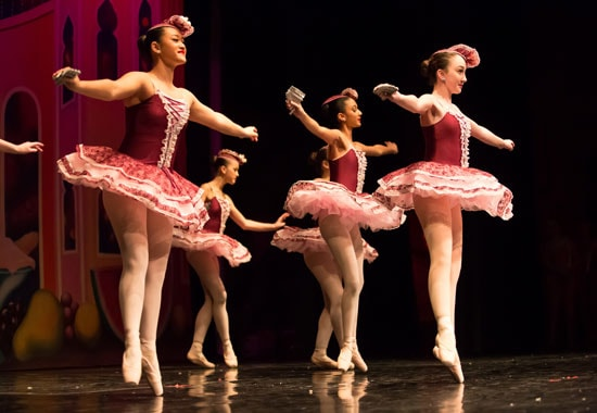 Mirlaton in The Nutcracker presented by Friends of DanceWorks, Vancouver City Ballet & DanceWorks Performing Arts