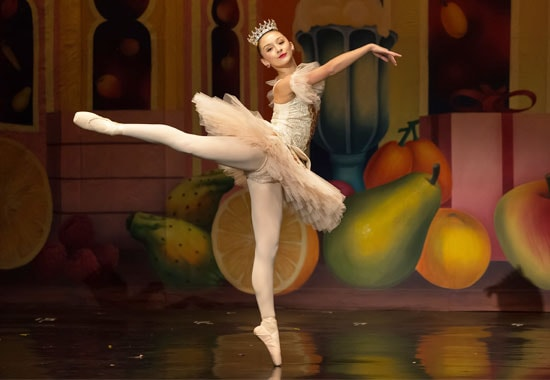 Sugar Plum Fairy in The Nutcracker presented by Vancouver City Ballet & DanceWorks Performing Arts