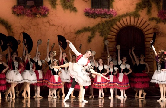 Don Quixote in Vancouver City Ballet's productions of Passages & The Secret Garden 2017