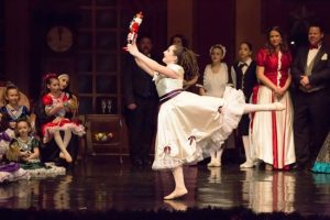 Clara in The Nutcracker presented by Friends of DanceWorks, Vancouver City Ballet & DanceWorks Performing Arts