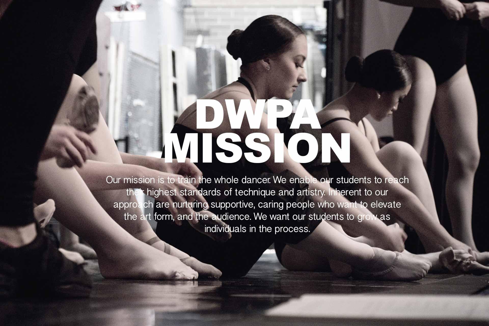 DanceWorks Performing Arts Mission