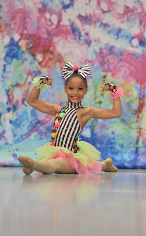 Mini soloist from DanceWorks Performing Arts Company