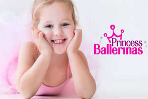 Princess Ballerina at DanceWorks Performing Arts